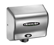 American Dryer eXtremeAir GXT9-C Steel Satin Chrome commercial hand dryer