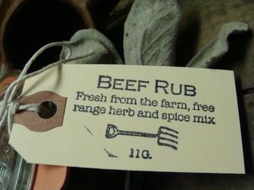 Beef Herb Rub