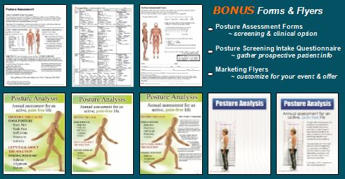 Posture Pictures  Posture Assessment Screenings Marketing  Forms