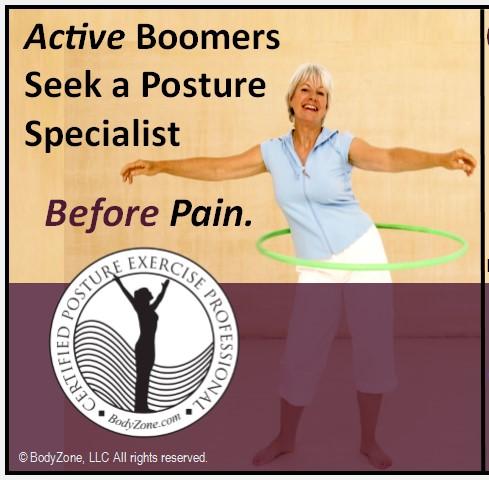 Posture specialist certification