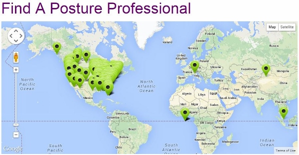 Map of Posture Specialists