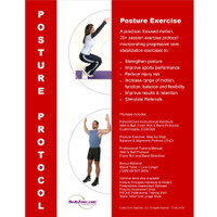 Posture Exercise Rehab Protocol Set
