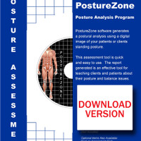 Downloadable PostureZone Posture Analysis Software - Full License