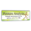 Horizontal Posture Screening Banner