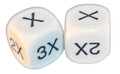 6 Sided Algebra Dice