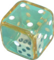6 Sided Dice inside clear Dice