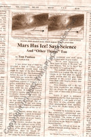 Fake Joke Newspaper Article SPACE COWS