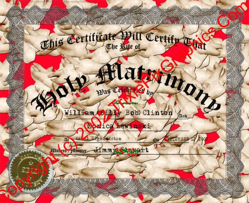 FC-17 Fake Marriage Certificate