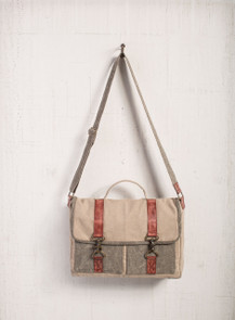 Gabriel Canvas Messenger Bag