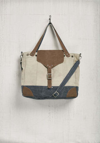 Getaway Oversized Canvas Tote