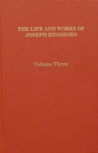Joseph Kinghorn Vol 3 book cover