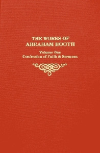 Abraham Booth Vol 1 book cover