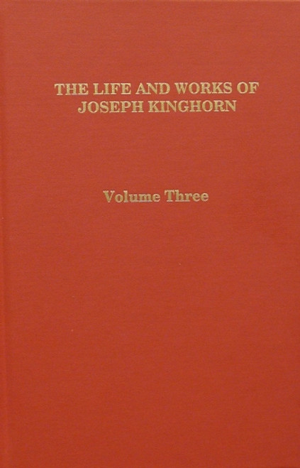 Joseph Kinghorn Vol 3 book cover