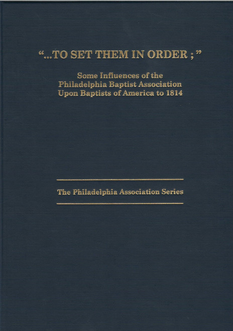 To Set Them in Order book cover