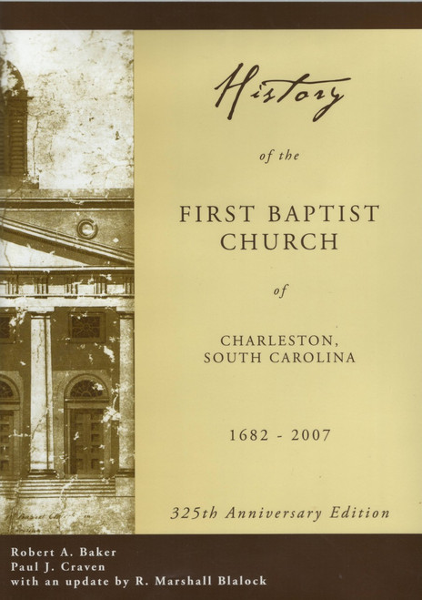 History of the FBC dust jacket front