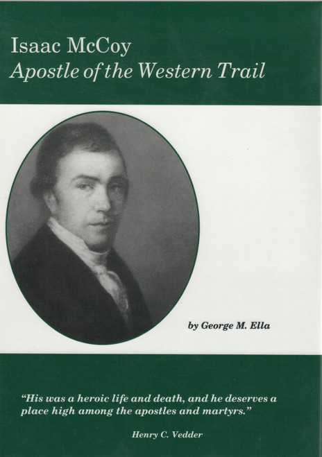 Isaac McCoy, Apostle dust jacket front