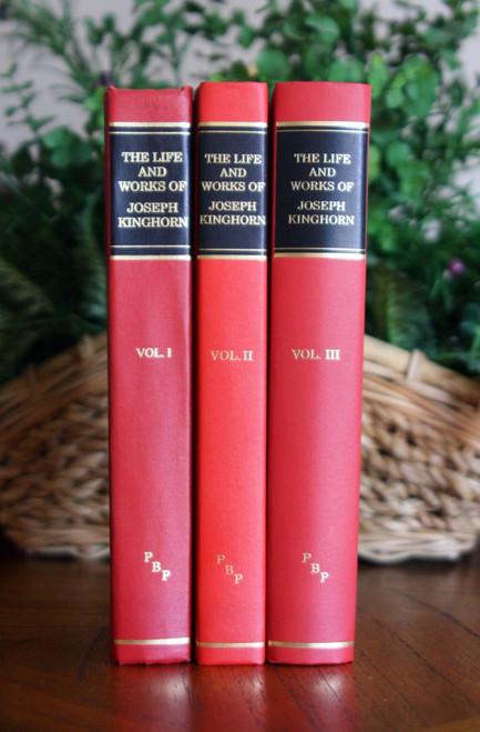 Kinghorn 3 volume set