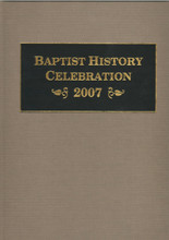 Baptist History Celebration book cover