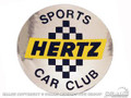 Shelby Hertz Wheel Center Decal