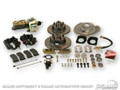 Disc Brake Conversion Kit W/master Cylinder (v8, 4 Piston, Non-slotted Rotors, Power, Automatic Only)
