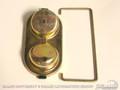 67-73 Drum Brake Master Cylinder Cap (cadmium)