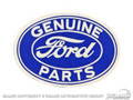 """3"""" Ford Geniune Parts Oval Decal"""