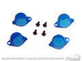 64-66 Instrument Panel Light Filters (blue)