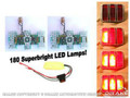 64-66 Led Sequential Tail Light Kit - easy Install