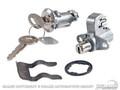 69-70 Glovebox & Trunk Lock Set