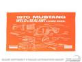 70 Weld/sealant Assembly Manual