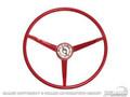 65 Standard Steering Wheel (bright Red)
