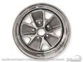 65-67 Styled Steel Wheel (14x6 Chrome Rim)