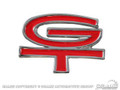 68-69 Styled Steel Gt Hub Cap Emblem