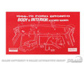 66-70 Bronco Body/Int Assembly Manual