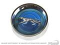 69-70 Cougar Magnum Hubcaps Set (Blue)