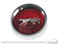 69-70 Cougar Magnum Hubcaps Set (Red)