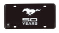 50Years License Plate