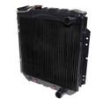 64-6 V8 Premium 3 Row Radiator