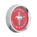 Alloy Rim Red Hubcap-Mustang