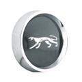 Alloy Rim Black Hub Cap-Cougar