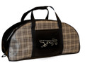 Cougar Tote Bag Plaid, Large