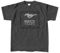50 Years Dk/Gray T-Shirt Large