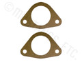 1957-1972 Full Size Ford Front Drum Brake Backing Plate Gaskets - Pair