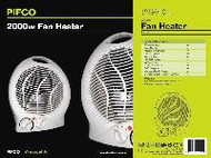 Pifco Upright Fan Heater 2 Kw