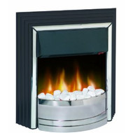 Dimplex ZAM20 Zamora Contemporary Freestanding Optiflame Effect Electrical Fire, 2 Kilowatt