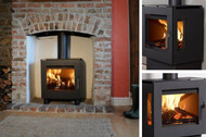 WESTFIRE UNIQ 23 SIDE GLASS STOVE