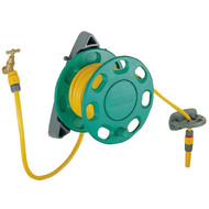 Hozelock (2422) 15m Hose & Wall Reel