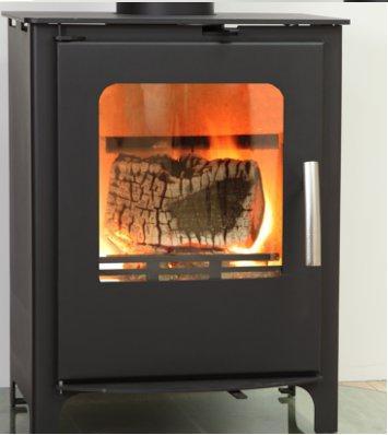 Home Stoves & Fireside Wood burning stoves Beltane Chew 5KW Defra