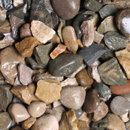 River Bed chippings 20mm Decorative Gravel -  LOCAL DELIVERY ONLY