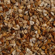 Sussex Gold chippings 20mm Decorative Gravel -  LOCAL DELIVERY ONLY